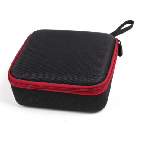 Mini Portable Hardshell Handbag Carrying Storage Case for Dji Spark Drone Body and Battery - Black & Red