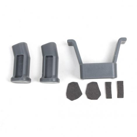 4Pcs Silica Gel Motor Protective Cover Accessories for DJI Mavic Pro Drone - Gray