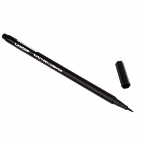 landbis Super Thin Waterproof Extra Black Liquid Eyeliner