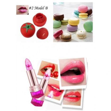 Moisturizing Jelly Lip Stick 1+Tomato Shape Sexy Lip +Moisturizing Nourishing Lip Balm
