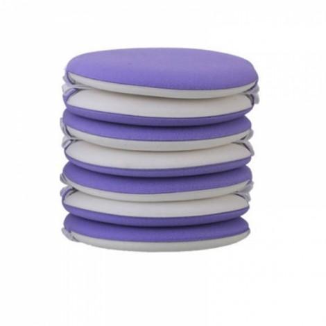 7pcs/set Air Cushion BB Cream  Makeup Sponge Puff  - Purple