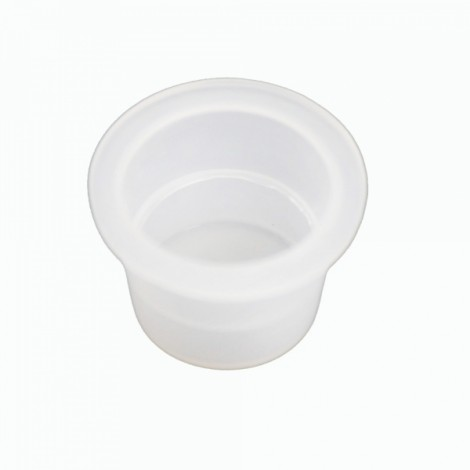 100pcs 16mm Ink Cups Caps Tattoo Cups White
