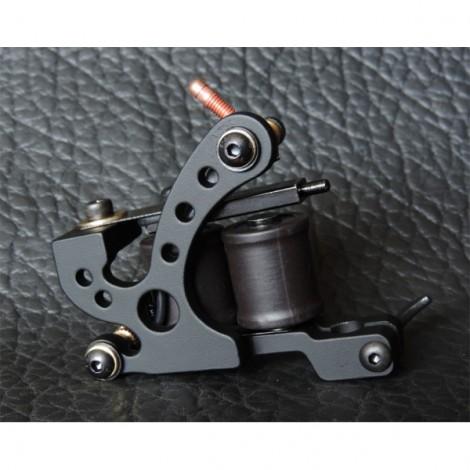 XHJ006A 10 Wrap Coil Liner Tattoo Machine Gun Black