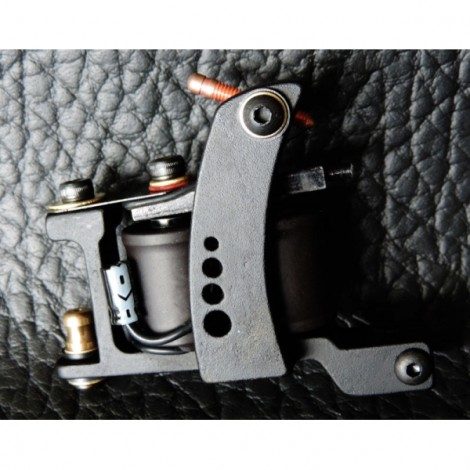 XHJ001A 10 Wraps Coil Shader Tattoo Machine Gun Brown