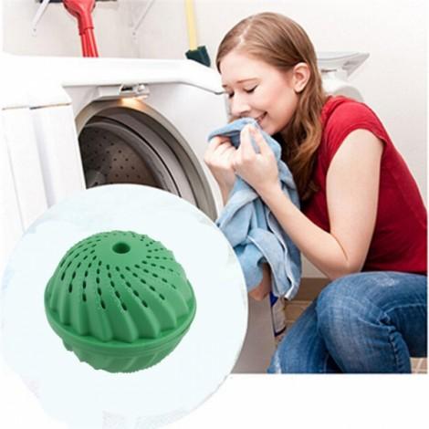 Eco Laundry Ball Magic Anion Nano Washing Ball White