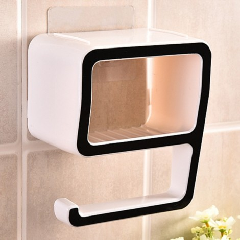 Creative Number 9 Soap Storage Rack Comestic Bathroom Supplies Organizer Home Decoration Black