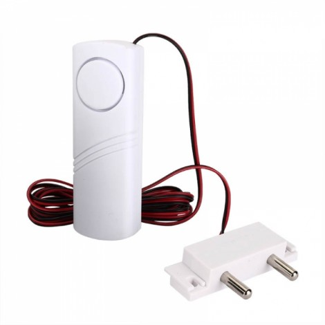Buzzing Water Leakage Alarm Leak Detector for Bathroom Kitchen Basement with 2m Wire And Probe