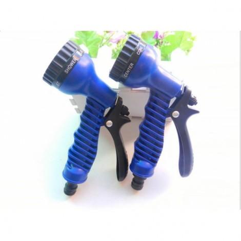Plastic Multifunctional Retractable Hose Water Pipe Nozzle Blue