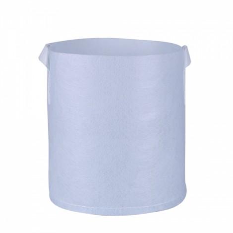 Non-woven Carry-on Planting Bag Home Gardening Vegetable Grow Bag 35 x 30cm White
