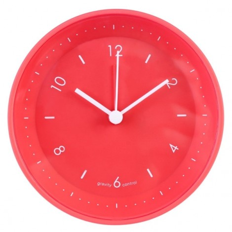 Stylish Jelly Gravity Control Bedside Alarm Clock Mute Clock Red