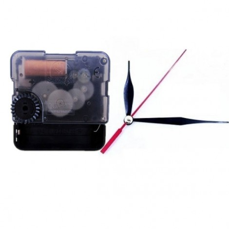 DIY Wall Clock Extra Quiet Sweep Quartz Movement Repair Replacement Parts #06