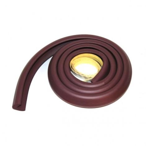 2m Kid Safety Soft Foam Protective Cushion Bumper Desk Table Furniture Edge Corner Guard Strip with Tape Grey