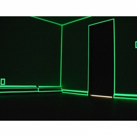 Self Adhesive Luminous Glow-in-the-dark Tape Stage Home Decor Green 1.5cm*5m