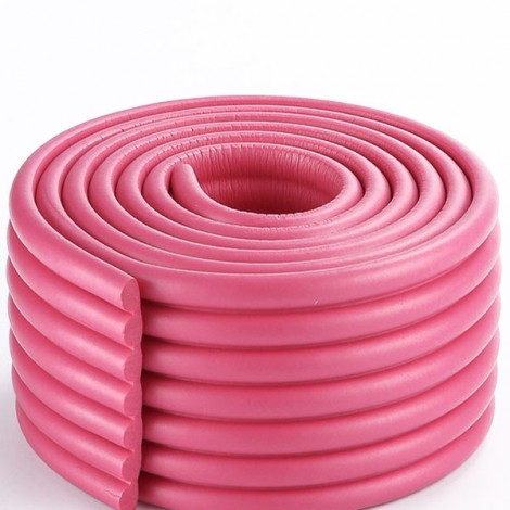 2m Electric Unicycle Cushion Bumper Strip Baby Protective Strip Accessories Rose Red