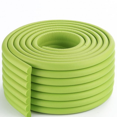 2m Electric Unicycle Cushion Bumper Strip Baby Protective Strip Accessories Grass Green