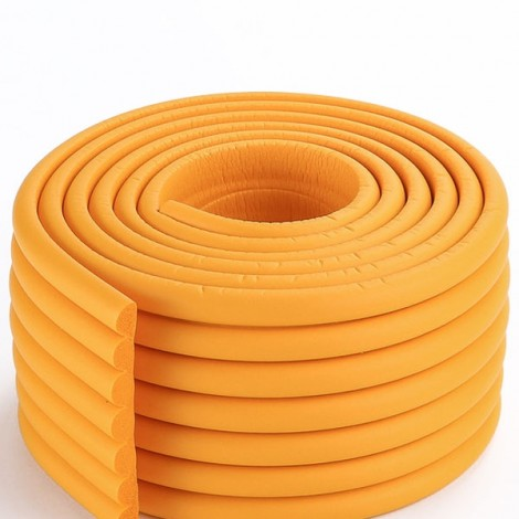 2m Electric Unicycle Cushion Bumper Strip Baby Protective Strip Accessories Orange
