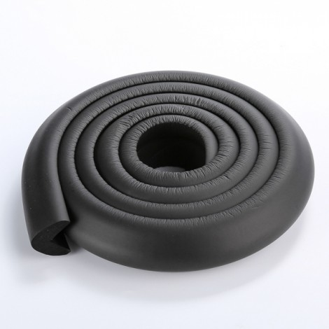 200CM L-Shaped Glass Table Corner Protector Edge Cushion Baby Safety Guard Black