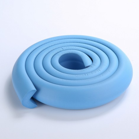 200CM L-Shaped Glass Table Corner Protector Edge Cushion Baby Safety Guard Sky Blue