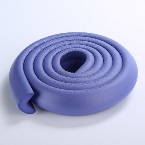 200CM L-Shaped Glass Table Corner Protector Edge Cushion Baby Safety Guard Purple