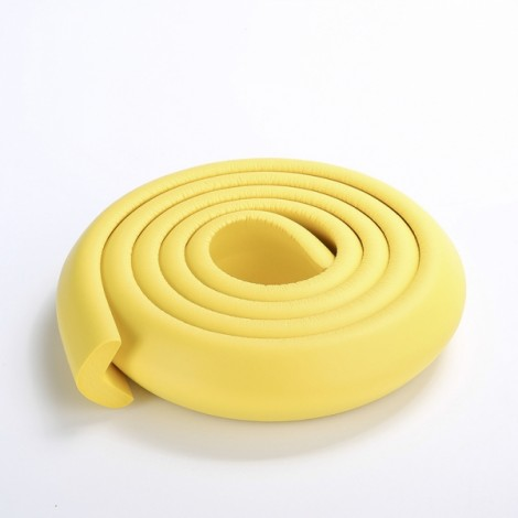 200CM L-Shaped Glass Table Corner Protector Edge Cushion Baby Safety Guard Yellow