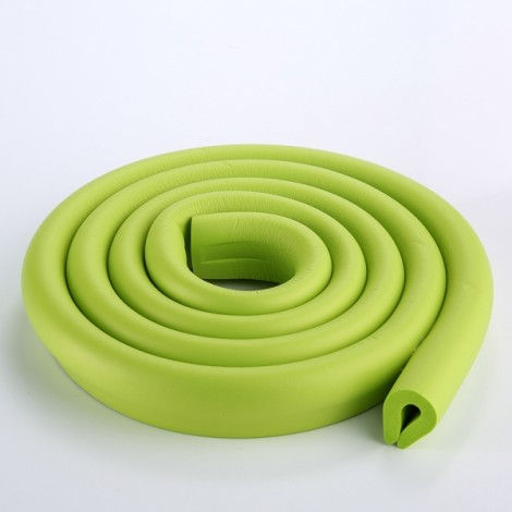 200CM U-Shaped Glass Table Corner Protector Edge Cushion Baby Safety Guard Green