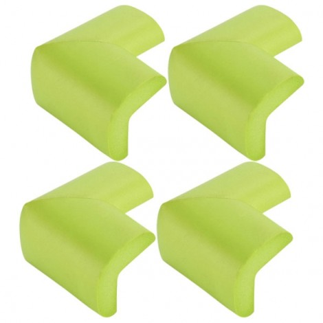 4pcs Soft Thicken Safety Baby Table Corner Cushion Protectors Green