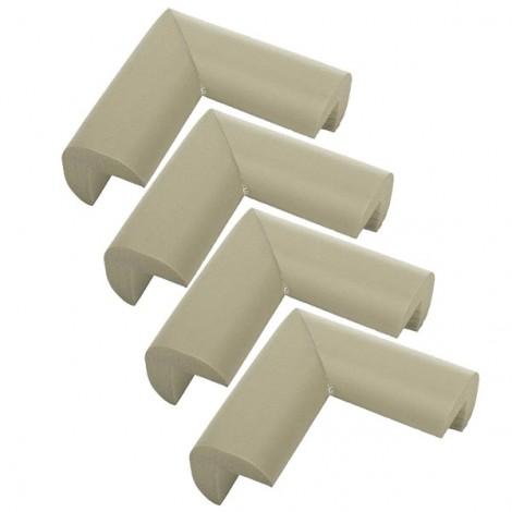 4pcs Baby Safety Table Desk Edge Corner Cushion Guard Softener Protectors Gray