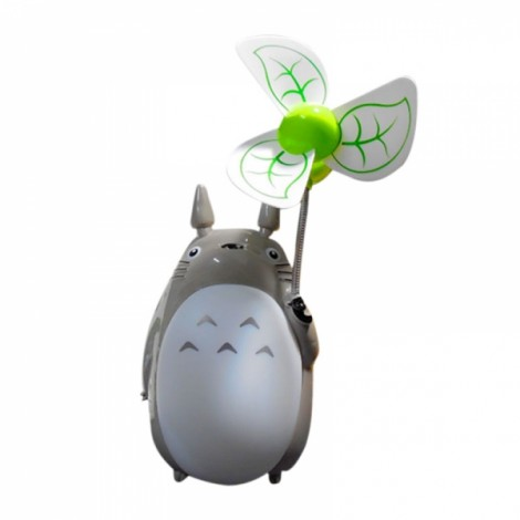 USB Chargeable Night Light Fan White Belly
