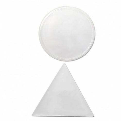 Sticky Gel Cell Pad Anti Slip Phone Pads Kitchen Bathroom House Car Holder- Transparent Suit