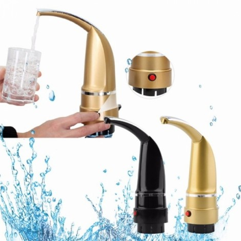 High quality Bottled Water Pumping Equipment Automatic Electric Drinking Water Suction Device US Plug Golden