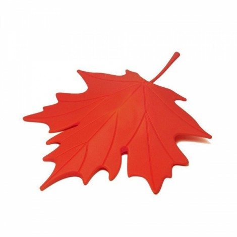 Creative Autumn Maple Leaf Safety Door Stopper Stop Home Door Decoration Red