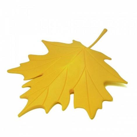 Creative Autumn Maple Leaf Safety Door Stopper Stop Home Door Decoration Yellow