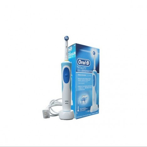 Oral B D12013 Electric Rechargeable Toothbrushes Dental Care Electric Toothbrush Standard Configuration Blue & White