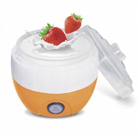 Multifunction Automatic Electric Yogurt Maker with Plastic Interior 1L US Plug Yellow