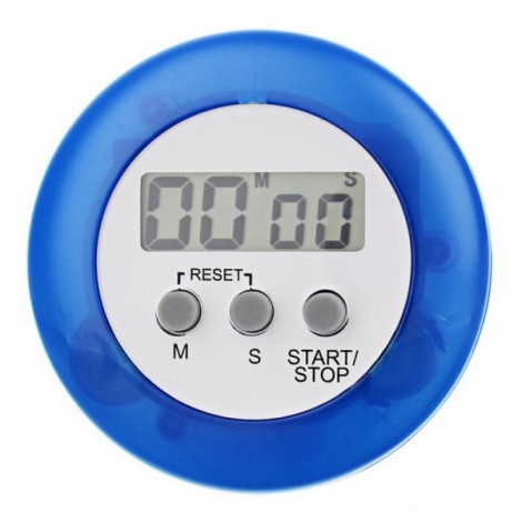 Mini Digital Kitchen Timer Blue