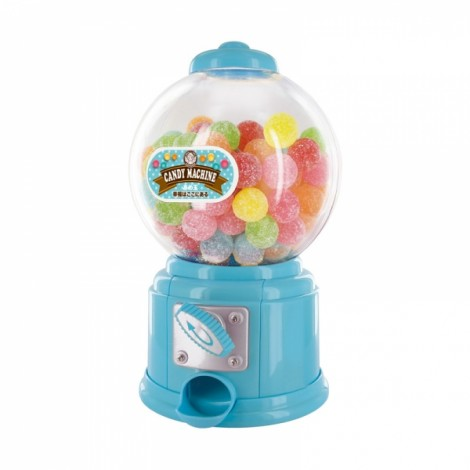 Cute Sweets Mini Candy Machine Bubble Gumball Dispenser Coin Bank Kids Toy Blue