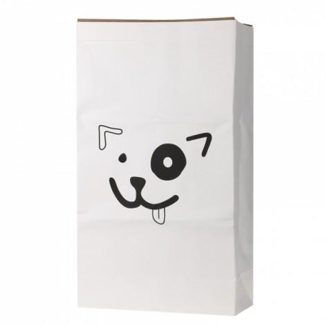 Kids Kraft Paper Cute Animal Pattern Cartoon Storage Paperbag 4# Dog
