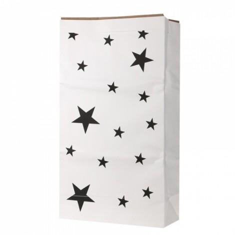 Kids Kraft Paper Cute Animal Pattern Cartoon Storage Paperbag 10# Star
