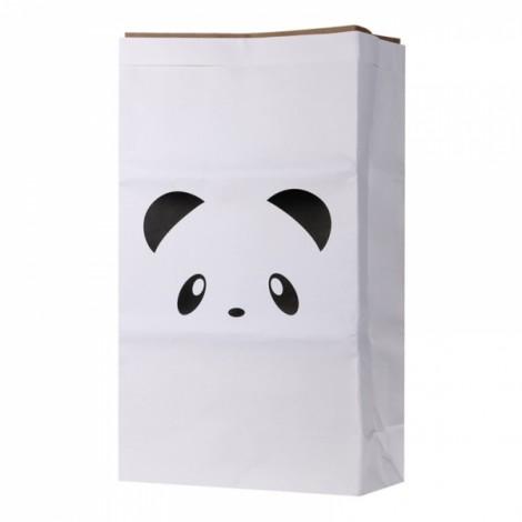 Kids Kraft Paper Cute Animal Pattern Cartoon Storage Paperbag 14# Panda