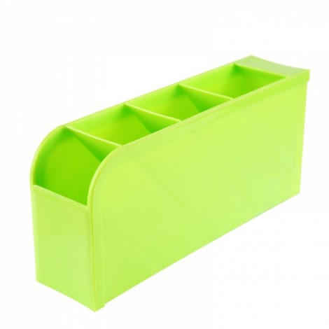 Candy Color Desktop Storage Box Kitchen Drawer Multifunctional Storage Basket Green