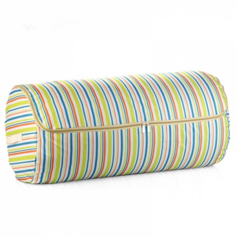 Cylindrical Quilt Storage Bag Oxford Cloth Large Capacity Storage Bags Portable Clothes Organizer Pouch XL Green