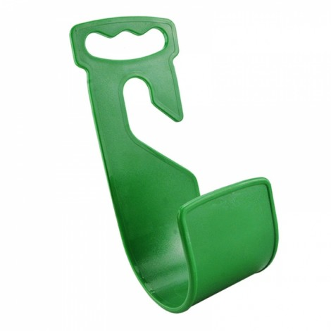 Durable Garden Hose Hanger Wall Mount Hose Pipe Holder Hook - Green