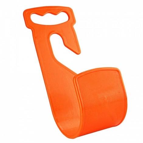 Durable Garden Hose Hanger Wall Mount Hose Pipe Holder Hook - Orange