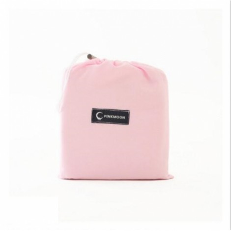 PPortable Outdoor Camping Single Sleeping Bag Liner Blanket Pink