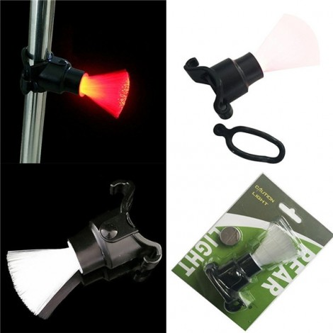 Optical Fibers Warning Bicycle Lamp Caution Light Fiber Rear Taillight Bicycle Safety Night Light