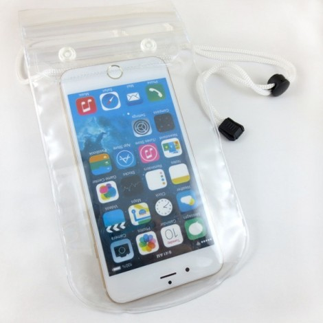 Mobile Phone Touch Screen Waterproof Sleeve Cellphone Bag for Swimming Random Color