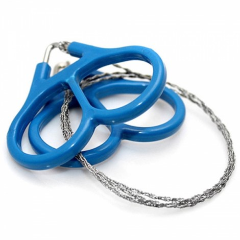 Stainless Steel Wire Saw Outdoor Camping Survival Tool