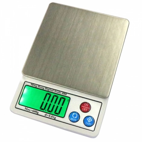 "MH-888 600g / 0.01g 2.2"" High Definition High Accuracy Electronic Scale Gold Jewelry Scale"