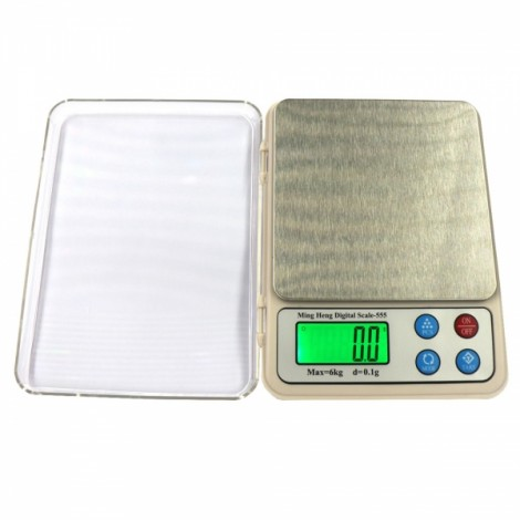 "MH-555 6kg / 0.1g 2.2"" Display High Precision Electronic Scale Gold Jewelry Scale"