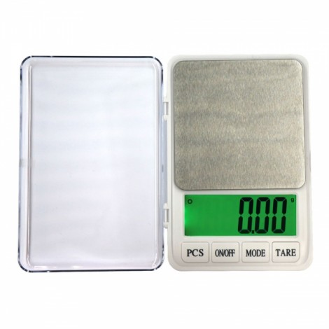 "MH-887 600g/0.01g 4.5"" LCD Digital Scale Jewelry Scale Silver Gray"